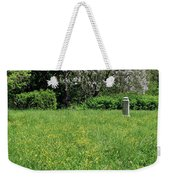 Alone In A Field Of Buttercups Weekender Tote Bag