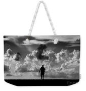 Alone Weekender Tote Bag by Stelios Kleanthous