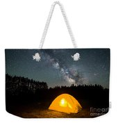 Alone Under The Stars Weekender Tote Bag