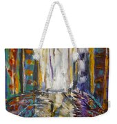 Alone With My Dog Weekender Tote Bag