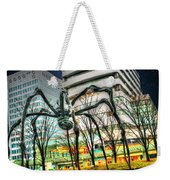 Along Came A Spider Weekender Tote Bag