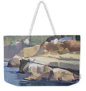 Along Coast Walk In La Jolla, San Diego, California Weekender Tote Bag