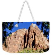 Along Emeral Pools Trail - Zion Weekender Tote Bag