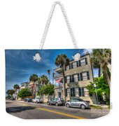 Along The Battery Weekender Tote Bag