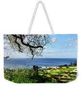 Along The Coastal Path - Lyme Regis Weekender Tote Bag