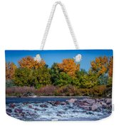 Along The Creek Weekender Tote Bag