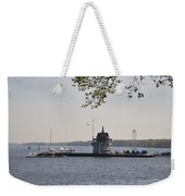 Along The Delaware River In New Jersey Weekender Tote Bag