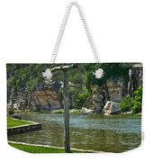 Along The Guadalupe Weekender Tote Bag