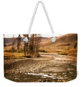 Along The Larmar River 2 Weekender Tote Bag by Marty Koch
