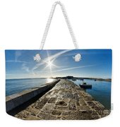 Along The North Wall Weekender Tote Bag