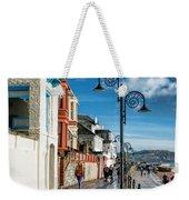 Along The Promenade - Lyme Regis Weekender Tote Bag