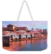 Along The Schuylkill At The Philadelphia Waterworks Weekender Tote Bag