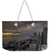 Along The Seattle Waterfront Weekender Tote Bag