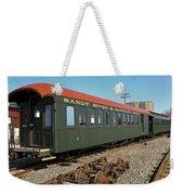 Along The Tracks Weekender Tote Bag