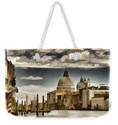 Along The Venice Canal Weekender Tote Bag
