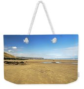 Along Whitby Sands Weekender Tote Bag