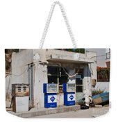 Alonissos Petrol Station Weekender Tote Bag