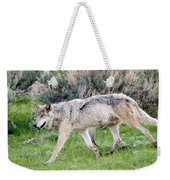 Alpha Wolf On The Move Weekender Tote Bag