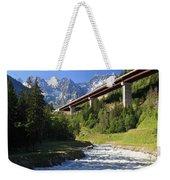 Alpine Highway Weekender Tote Bag