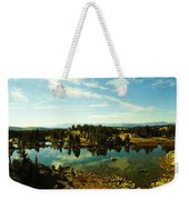 Alpine Lake Off The Beartooth Highway Weekender Tote Bag