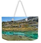 Alpine Lake Weekender Tote Bag