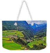 Alpine Meadow Weekender Tote Bag