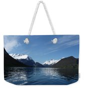 Alpine Mirror Weekender Tote Bag