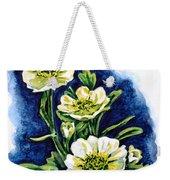 Alpine Ranunculus Weekender Tote Bag