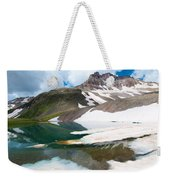 Alpine Reflection In The San Juans Weekender Tote Bag
