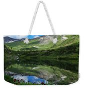 Alpine Reflections Weekender Tote Bag