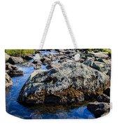Alpine Stream Beartooth Mounain Range Weekender Tote Bag by Edward Fielding