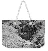 Alpinists On Glacier Weekender Tote Bag