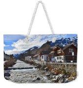 Alps Vicinity Weekender Tote Bag