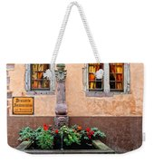 Alsace Fountain Weekender Tote Bag