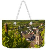 Alsace Morning Weekender Tote Bag by Brian Jannsen