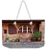 Alsatian Home In Kaysersberg France Weekender Tote Bag by Greg Matchick