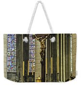 Altar Of Rouen Cathedral Weekender Tote Bag