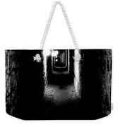 Altered Image Of The Catacomb Tunnels Paris France  Weekender Tote Bag