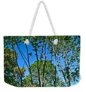 Alternate Reality - Reflected View Of The Forest From A Pond In Garland Ranch Park In Carmel Valley. Weekender Tote Bag