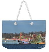 Alton Belle Casino Weekender Tote Bag by Peggy Franz