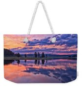 Alum Creek Sunrise Weekender Tote Bag