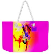 Lets Face It, You Are Dreaming Of A Fucking Amazing Cow Staring Right At You    Weekender Tote Bag
