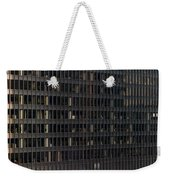 A M A Plaza Steel Weekender Tote Bag