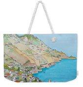 Amalfi Coast Praiano Italy Weekender Tote Bag