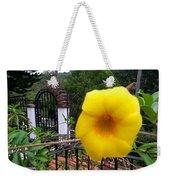 Amarillo La Flor Weekender Tote Bag