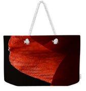 Amaryllis Abstract Weekender Tote Bag