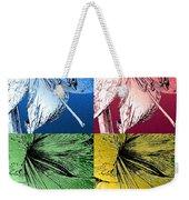 Amaryllis Pop Art Weekender Tote Bag