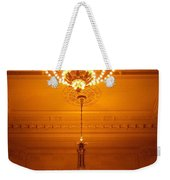 Amazing Antique Chandelier - Grand Central Station New York Weekender Tote Bag