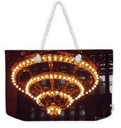 Amazing Art Nouveau Antique Chandelier - Grand Central Station New York Weekender Tote Bag