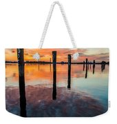 Amazing Bay Weekender Tote Bag